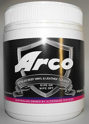 "ARCO Vinyl and Leather Cleaner ""World's Best"" 500ml tub $$ back guarantee"