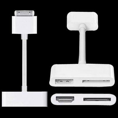 Pro Digital AV HDMI Adapter cable For iPod Touch For iPhone 4 4G For iPad2 OS