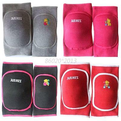 Useful Child Boy Girl Kids Knee Pad Dance Training Games Cotton Sports Knee Pad