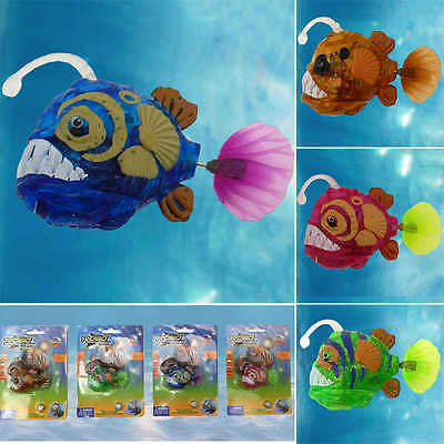 Aquarium Electric Swimming Robofish Activated Battery Powered Robo Fish Toy