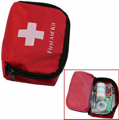 Outdoor Camping Travel Survival Kit Bag Hiking Emergency First Aid Mini Chic