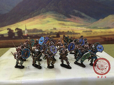 28mm Ancient WAB DPS Painted Gallic Warriors GH158