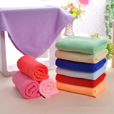 2/5/10/20x Microfiber Towel Kitchen Wash Auto Car Home Cleaning Wash Clean Cloth