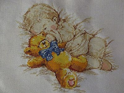 """Little son"" counted cross stitch, size  (22 * 25 cm)"