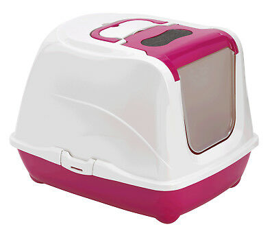 MAISON DE TOILETTE CHAT XXL/BAC LITIÈRE POUR CHAT GÉANT JUMBO AS97385SRcorail