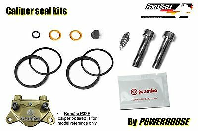Ducati 900 SS SuperSport 92-97 rear brake caliper seal repair kit 1992 1993 1994
