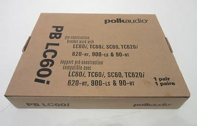 Polk Audio PB LC60i Speaker Bracket, 1 pair