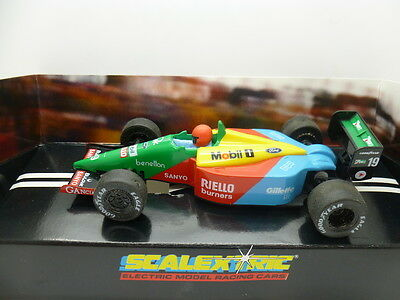 Scalextric C461 Ford Benetton B189, boxed used car