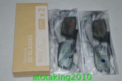 2XSamsung Active 3D GLASSES for UK  Panasonic  TV TX-48CX400B TX-55CX400B