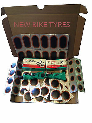 Rema Tip Top Tt02 Tt04 Puncture Repair Kit Inner Tube Tyre Patches Glue Bicycle