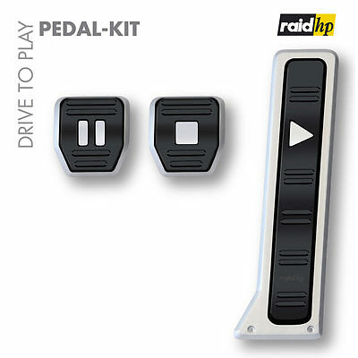 raid hp DRIVE TO PLAY Sportpedale Pedalset Alupedale Pedal-Kit