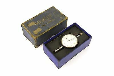 """Vintage Mercer Imperial Dial Test Indicator - DTI - (.0005"""") - In Box"""