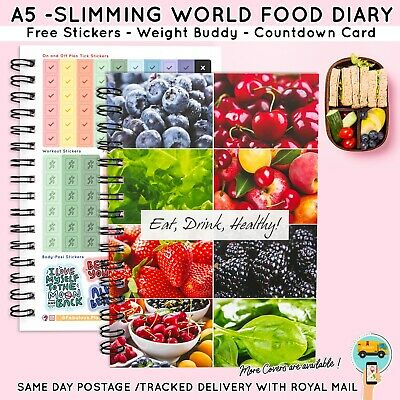 A Food Diet Diary Slimming World Compatible Activity Tracker Journal Go Girl!