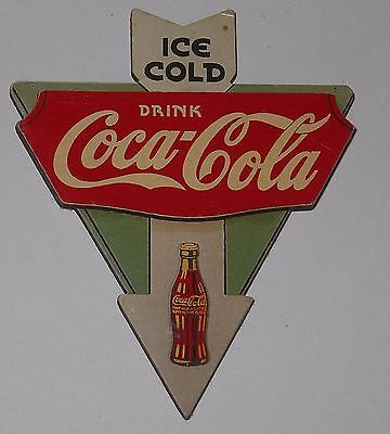 Ice Cold Drink Coca Cola Arrow Vintage Coke Soda 1990's Refrigerator Magnet #217