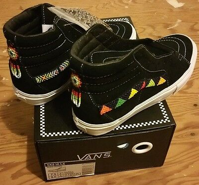 d65b3e17037 VANS 2014 SK8 HI XL HUICHOL RAINBOW TRIBE 7.5 golf wang supreme syndicate  wtaps