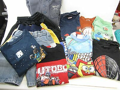 3T / 4T Kids Clothing 11 Lot Tshirts, Shorts, Pull-over Lego Spiderman MineCraft