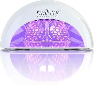 NailStar® Professional LED Nail Dryer Nail Lamp for Gel Polish with 30sec, 60se