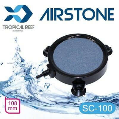 "Sc100 Ceramic Disc Large Airstone Diffuser Koi Fish Pond Tank Air Stone 4"" 100Mm"