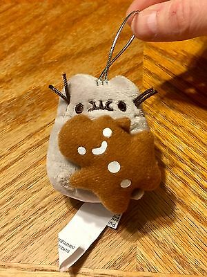 Pusheen The Cat Blind Box Eating Gingerbread Cookie Ornament Series 2 Plush Gund