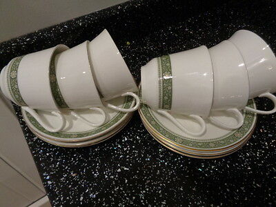 ROYAL DOULTON RONDELAY  CUPS AND SAUCERS x 6