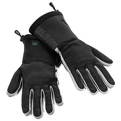 Verseo/ThermoGloves Electric Rechargeable Heated Gloves Thin Enough For Use As