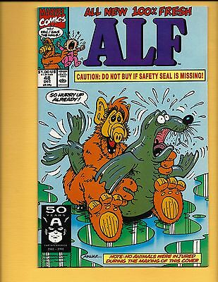 Alf #48 Infamous Cover Nm-