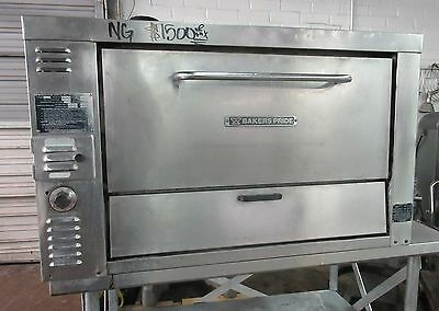 Bakers Pride GP61 Countertop Natural Gas Stone Deck Pizza Oven