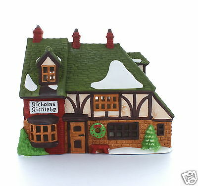 Department 56 Nicholas Nickleby Cottage 1988 #59250 Dickens' Village Collectible