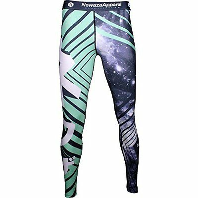 Newaza Apparel Galaxy Spats Black Large