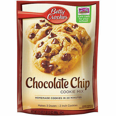 Betty Crocker Chocolate Chip Cookie Mix 496g American Version