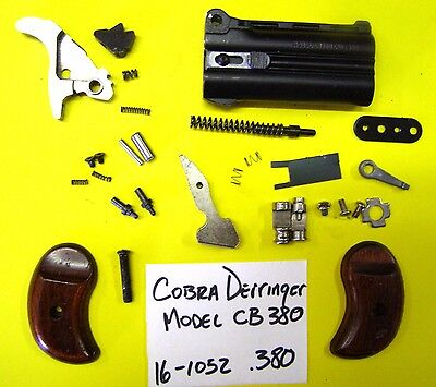 COBRA DERRINGER CB 380 Cal All The Small Parts Pictured For One Price #  16-1052