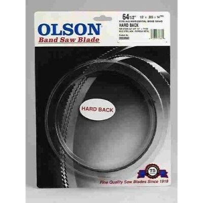 "Olson Saw- Band Saw Blade 1/2x1/2x.025""h, 14 WAVY 64-1/2"""