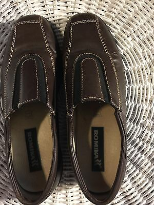 ROMIKA SHOES GERMANY leather comfort walking shoes - Icaria