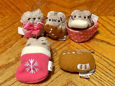 5 Of The 8 Pusheen The Cat Blind Box Ornament Series 2 Plush Gund Stormy Cookie