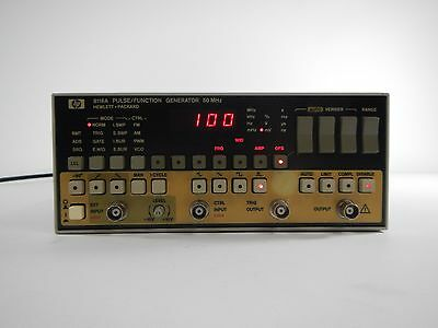 HP 8116A Pulse / Function Generator
