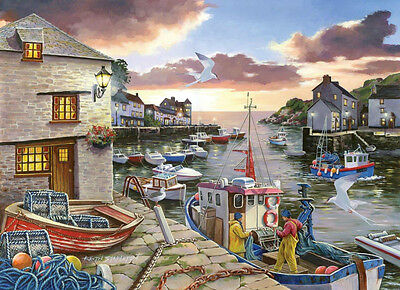 The House Of Puzzles - 250 BIG PIECE JIGSAW PUZZLE - Harbour Lights Big Pieces