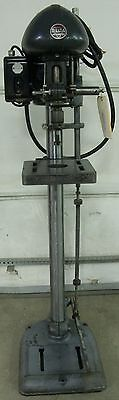 """Delta DP 220 Vintage 14"""" Drill Press 3PH, 230V, 1/2 HP, Cleaned, Checked"""