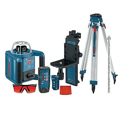 BOSCH GRL 240 HVCK  800 ft. Self-Leveling Rotary Laser Level Complete Kit (NEW)