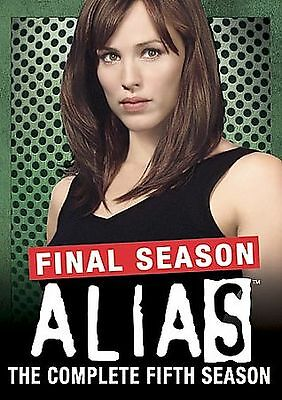 Alias - The Complete Fifth Final Season (DVD 2006 4-Disc Set) NEW SEALED