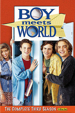 Boy Meets World - The Complete Third Season (DVD, 2010, 3-Disc Set) 3 Three NEW