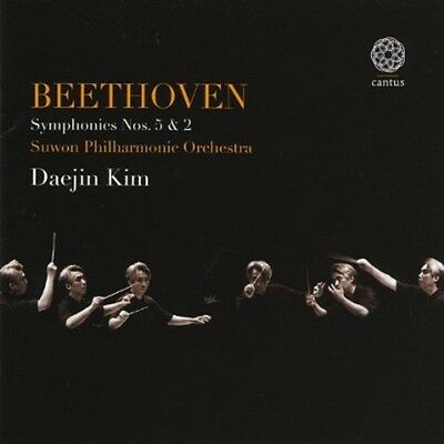 Beethoven Symphonies Nos. 5 & 2 - Suwon Philharmonic Orchestra (2012, CD NUOVO)