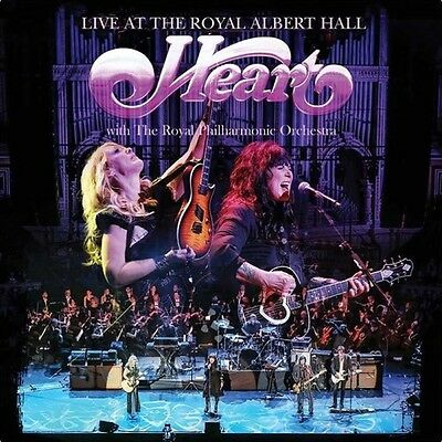Live At The Royal Albert Hall With Royal Philharmo - Heart (2016, CD NUOVO)