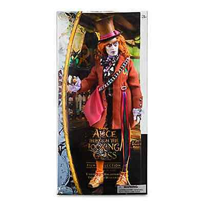 Mad Hatter Disney Film Collection Doll - Alice Through the Looking Glass - 13 1/