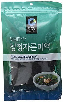 2 Packs - Dried Seaweed (Sea Mustard), Pre-cut sliced for Soup and Salad (1.7Oz/