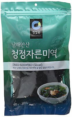 Dried Seaweed (Sea Mustard), Pre-cut for Soup and Salad (1.76 Oz) By Chung-Jung-
