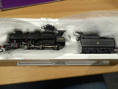 OO gauge NEAR MINT Bachmann 32-578 Ivatt Class 4 in BR lined black 43038