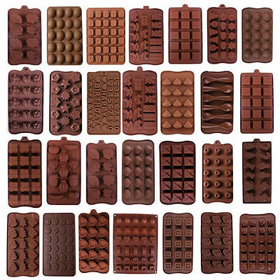 62 Shapes Silicone Cake Decorating Moulds Candy Cookies Chocolate Baking Mold