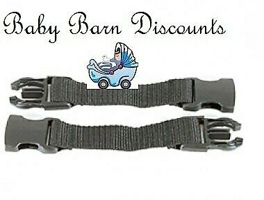 Phil & Teds/ Mountain Buggy harness extension straps
