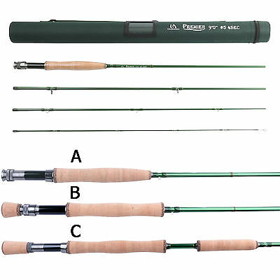 Maxcatch 3/4/5/6/7/8/9/10/12WT Fly Fishing Rod IM10 Fast Action & Cordura Tube