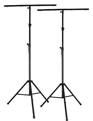 2 x Lighting Stands 3.2m & T-Bar